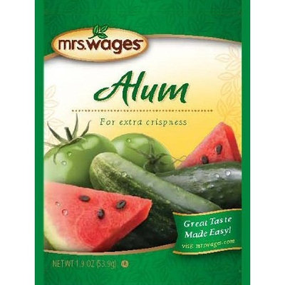 Mrs Wages Mrs. Wages® ALUM - 12 packets, 1.9oz each