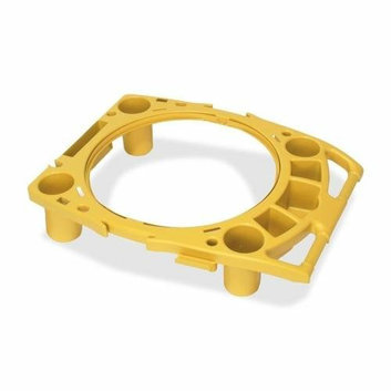 Rubbermaid Commercial Products 9W8700YW Rim Caddy 26-1/2inx32-1/2inx6-3/4in Yellow