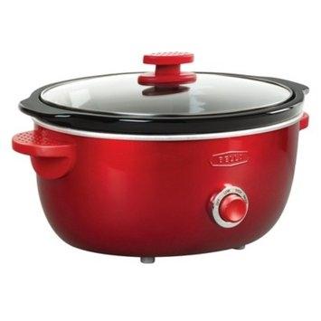 Bella Dots 6 Quart Slow Cooker - Red