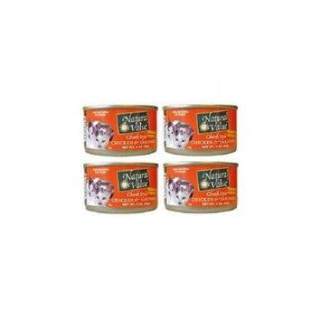 Natural Value BG16245 Natural Value Chikn-Srdine Cat Food - 24x3OZ