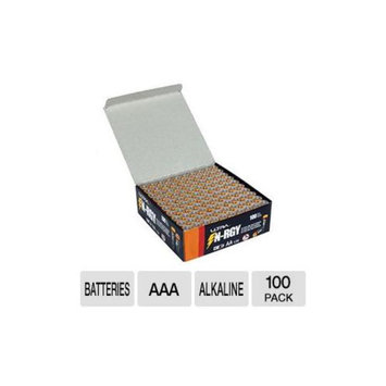 Ultra N-RGY AAA Alkaline Batteries - 1.5v, 100 Pack - U12-42469