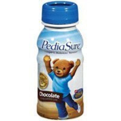 PediaSure Complete Balanced Nutrition Liquid for Institutional-Use,Chocolate Flavor, Model: 53587 - 8 Oz/ Bottle, 24 Ea