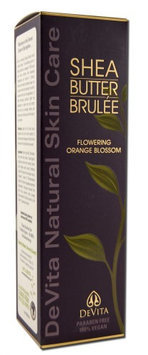 Shea Butter Hand and Body Brulee, Flowering Orange Blossom 7 Oz by Devita Natural Skin Care