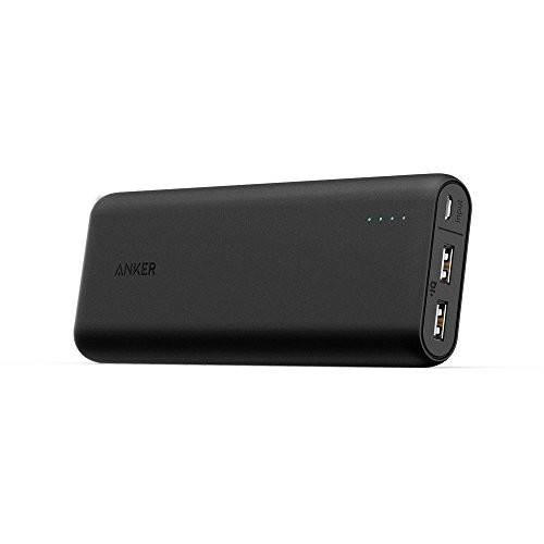 (Most Compact 20000mAh Portable Charger) Anker PowerCore 20100 - Ultra High Capacity Power Bank with Most Powerful 4.8A Output, PowerIQ Technology