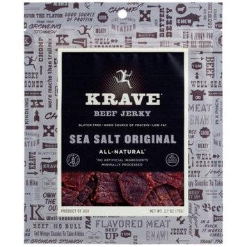 Hershey Krave Sea Salt Original Beef Jerky, 2.7 oz