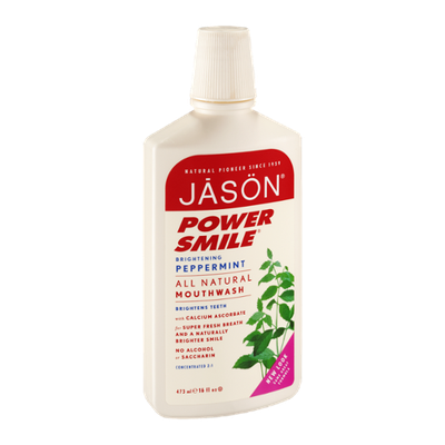 Jason Power Smile All Natural Mouthwash - Brightening Peppermint