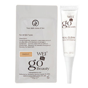 Wei to Go Real Clean and Ideal Skin