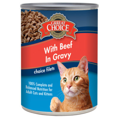 Grreat ChoiceA Choice Filets Cat Food
