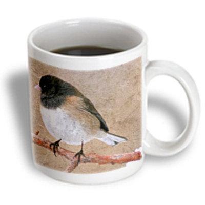 Recaro North 3dRose - Cassie Peters Birds - Junco Bird - 11 oz mug