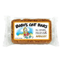 Bobo's Oat Bars All Natural, Apricot, 3-Ounce Packages (Pack of 12)