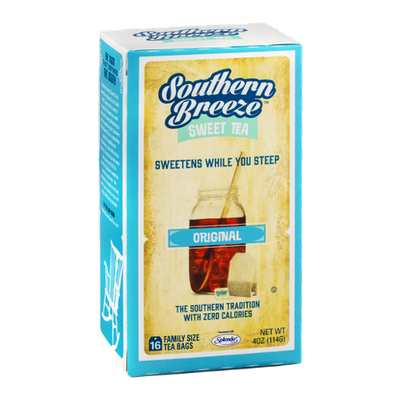 Southern Breeze Sweet Tea Original Family Size Tea Bags - 16 CT