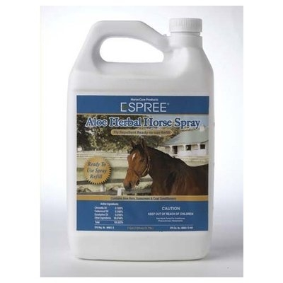 Espree Animal Products Ready To Use Herbal Fly Repellant Aloe Spray
