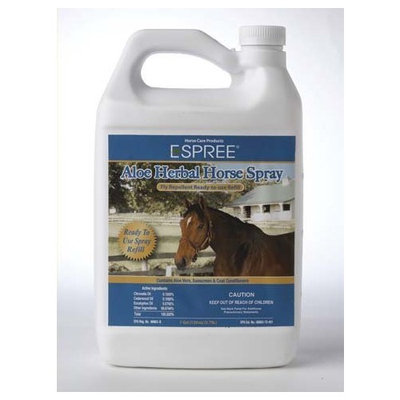 Espree Animal Products Ready To Use Herbal Fly Repellant Aloe Spray