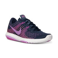 blue shoes Nike Women's Flex Fury Running Sneakers from Finish Line