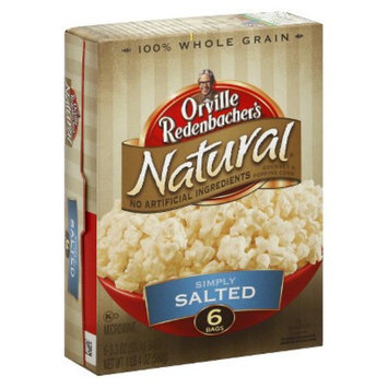 Orville Redenbacher's Natural Simply Salted Microwave Popcorn 6 pk