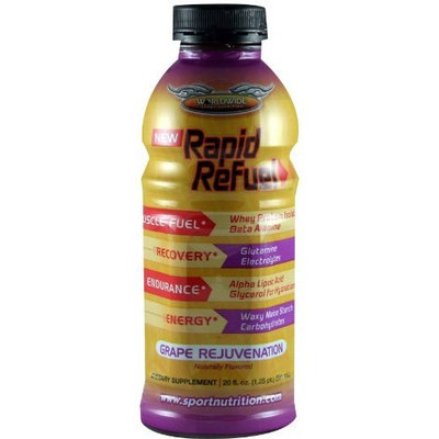 WWSN Rapid Refuel, Grape, 12-Count