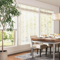 Bali Blinds & Shades 2-1/2 in. Double Beveled Composite Faux Wood Blind, 36†x 60†, Configurable