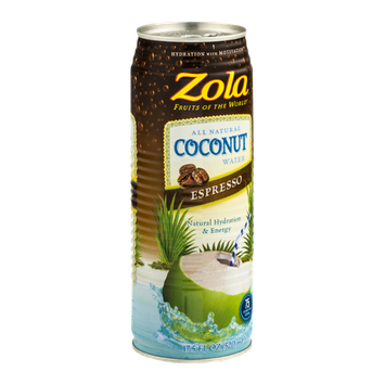 Zola Fruits Of The World Coconut Water Espresso