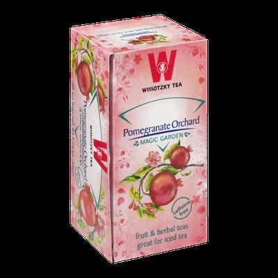 Wissotzky Tea Bags Magic Garden Pomegranate Orchard - 20 CT