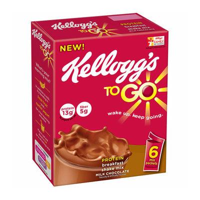 Kellogg's To Go Milk Chocolate Breakfast Shake Mix