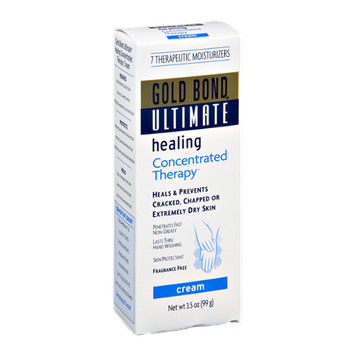 Gold Bond Ultimate Fragrance Free Concentrated Therapy Healing Cream