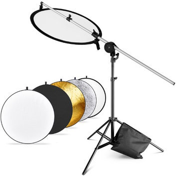 Neewer Photo Studio Reflector Kit, Include:(1)43 110cm 5-in-1 Collapsible Light Reflector(1)30 -7