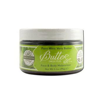 Aroma Naturals 1206465 Body Butter Pure Aloe Vera 3.3 Oz