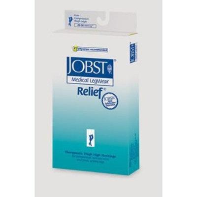 Jobst Relief Thigh High 20-30mmHg Open Toe, M, Beige