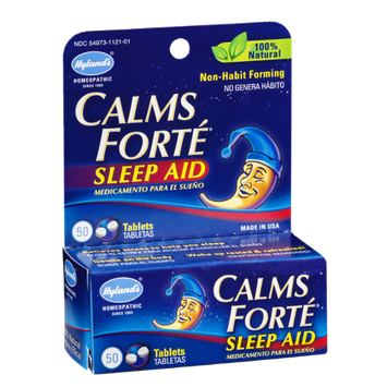 Hyland's Calms Forte Sleep Aid - 50 CT