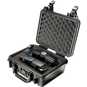 Pelican 1200 Hard Camera Gun Case Black With Foam