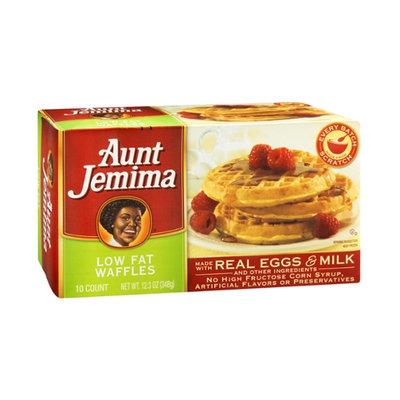 Aunt Jemima Waffles Low Fat - 10 CT