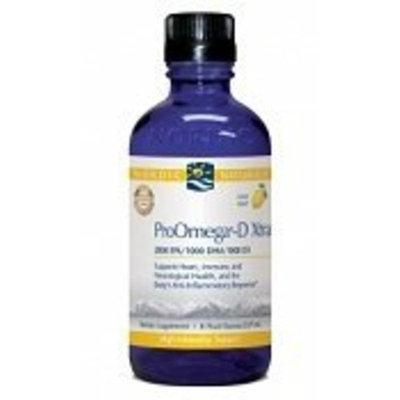 Nordic Pure Nordic Naturals - Pro Omega D Extra Liquid (Lemon) - 4oz