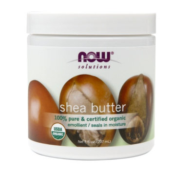 NOW Solutions Shea Butter, 100% Pure & Certified Organic, 7 fl oz