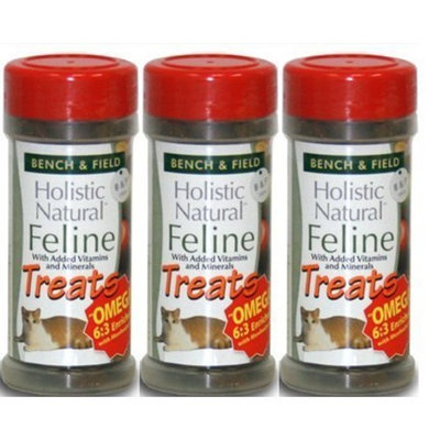 (Pack of 3) Trader Joe's Bench & Field Holistic Natural Feline Cat Treats