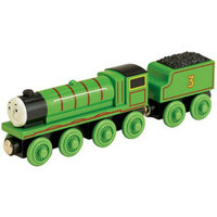 Learning Curve Thomas Wooden Railway Train and Coal Car - Henry