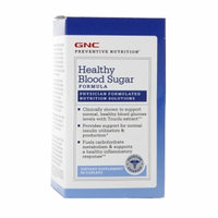 GNC Preventive Nutrition Healthy Blood Sugar Formula, Caplets, 90 ea