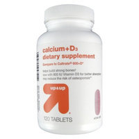 up & up up&up Dietary Supplement Calcium Tablets - 120 Count