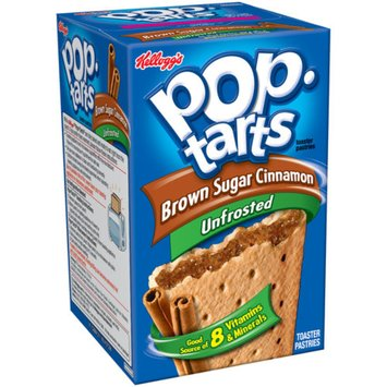 Kellogg's Pop-Tarts, Unfrosted Brown Sugar Cinnamon