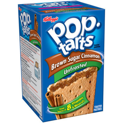 Kellogg's Pop-Tarts, Unfrosted Brown Sugar Cinnamon