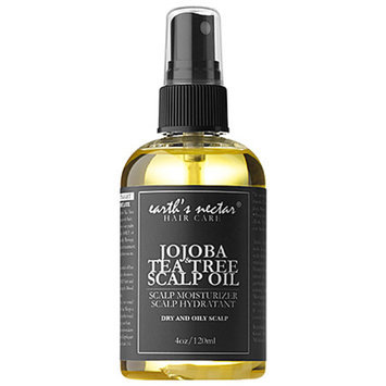 Earth's Nectar Jojoba & Tea Tree Scalp Oil 4 oz