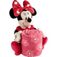 Disney Minnie Mouse Plush with Blanket