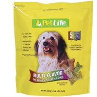 Sunshine Mills Inc Pet Life Multi-flavor Dog Biscuits 14.5oz