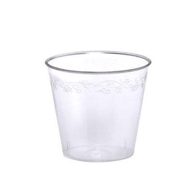 King Zak Ind Lillian Tablesettings 12116 DVine 1 Oz Shot Cup Dinnerware - 2500 Per Case