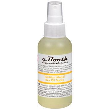 c. Booth Dry Oil Spray, Tahitian Monoi, 4 fl oz