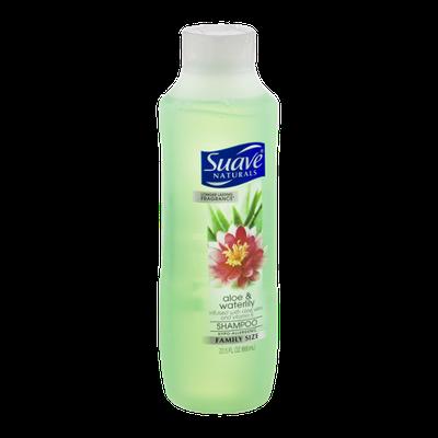 Suave Naturals Aloe & Waterlily Shampoo 22.5 oz