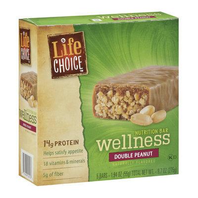 Life Choice Wellness Double Peanut Nutrition Bar
