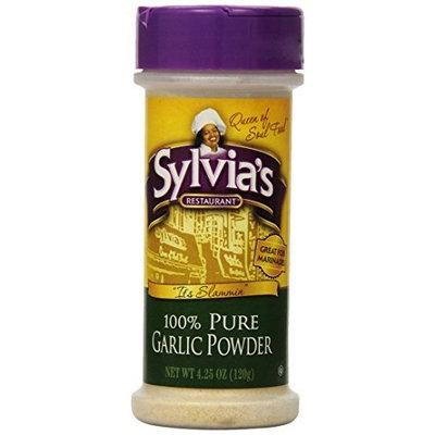 Sylvia's Pure Garlic Powder, 4.25-Ounce Units (Pack of 12)