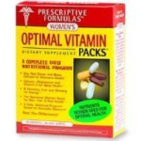 Prescriptive Formulas Women's Optimal Vitamin Packs 30 Packets