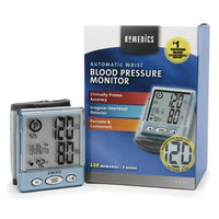 HoMedics Automatic Wrist Blood Pressure Monitor with Voice Assist