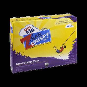 Clif Kid Z Bar Organic Chocolate Chip Crispy Rice Bar - 6 CT